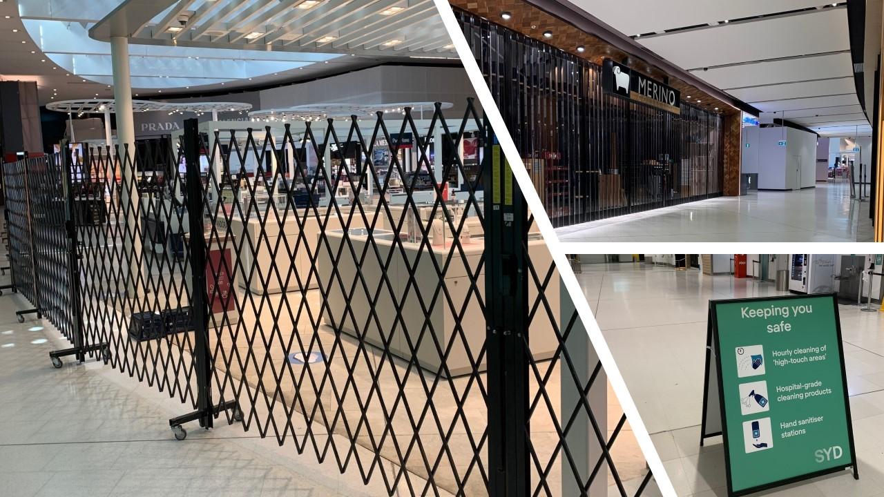 Deserted Sydney Airport